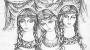 Иллюстрация к книге Николая Левашова - «Сказ о Ясном Соколе. Прошлое и настоящее». Глава 1. Прошлое. Сказ о Ясном Соколе. Часть 1.